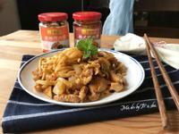 洋蔥蕈菇炒麵