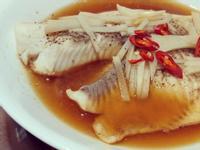 減肥低脂-清蒸檸檬鯛魚片