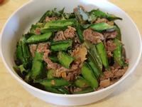 楊桃豆炒肉片