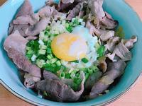 萬用鍋 超簡單蔥花豬肉丼飯