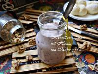 藍莓蜂蜜起司麵包抺醬