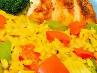 薑黃蔬菜燉飯