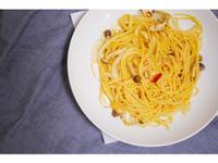 【素食】辣炒蒜香蕈菇義大利麵