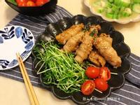 👩🍳日式豬肉金針菇韭菜捲