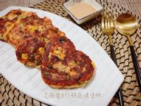 芝麻醬五行鮮蔬漢堡排/沙拉【五辛素】