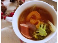番茄蔬菜湯 (露營OK) *番茄汁使用