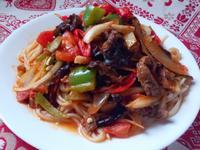 新疆牛肉拌麵