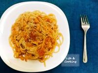 【一個人的廚房】番茄鮪魚義大利麵