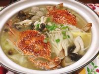 螃蟹味增鍋