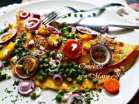 洋葱鮪魚歐姆蛋