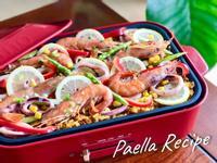 西班牙燉飯!海鮮滿滿~做法超簡單!