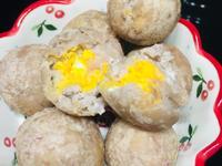 豆漿版~芋頭鹹蛋黃丸子