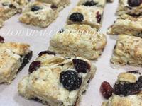 簡易手工Q餅-蔓越莓、葡萄乾口味