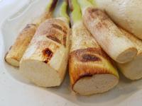 素烤筊白筍佐椒鹽