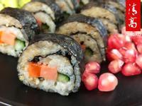 卷起秋天的美味,苦荞寿司来尝尝!