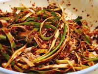 韓式涼拌三星蔥