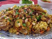 翻轉吧!雞肉飯-中東香料油飯