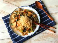 素食炒米粉
