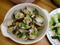 香蒜洋蔥奶油蛤蜊