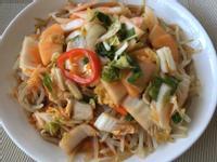 韓式泡菜豆芽涼拌