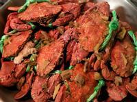 鮮甜酒蒸螃蟹