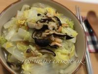 古早味、超下飯~阿嬤扁魚白菜滷