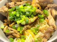 三菇拌乾麵