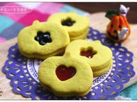 南瓜造型果醬餅乾