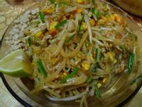 泰式炒粿條(懶人豬肉版)