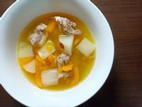 南瓜蘿蔔排骨湯
