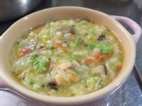 寶寶南瓜鮮蔬鮭魚粥