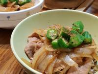 秋葵豬肉壽喜燒藜麥飯