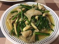 蒜味雞肉炒蠔菇