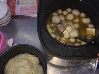 燦坤大園店萬用鍋出好菜~麻油梅花肉加麵線