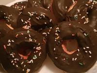 巧克力-甜甜圈