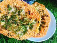 蔥香起士薄餅(免烤箱)