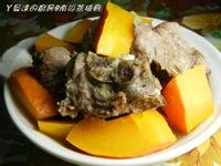 ㄚ曼達的廚房~【大同電鍋料理】南瓜蒸排骨
