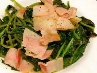 奶油小豬(奶油培根地瓜葉)