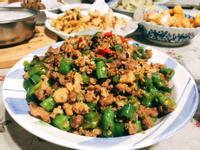 白飯殺手-糯米椒炒豬肉末