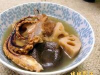 蓮藕章魚綠豆豬展湯