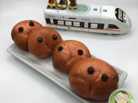 火龍果優格起司造型麵包