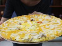 沒有澱粉的披薩!