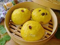 薑黃蔓越莓饅頭