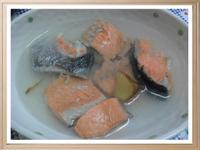 Y芬的小廚房--鮭魚頭湯