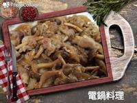 洋蔥鴻喜菇燒肉