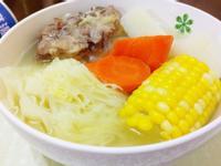 蔬菜排骨湯