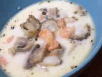 帆立貝海鮮濃湯