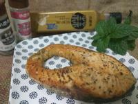 氣炸鍋料理-香煎黑胡椒鮭魚