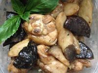 醬燒香菇雞