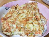 魩魚紅蘿蔔煎蛋